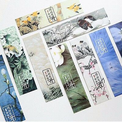 2018 30pc/Box Stay Blooming Bookmark Book Mark Magazine Note Label Memo School