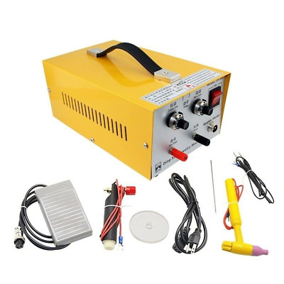 200W Pulse Sparkle Spot Welder Jewelry Welding Machine Necklace Gold Silver US