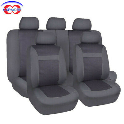 Black /& Grey SurePromise One Stop Solution for Sourcing Universal Car Seat Covers Dog Cat Pet Child Protectors Full Set Front Rear Washable Interior Accessories