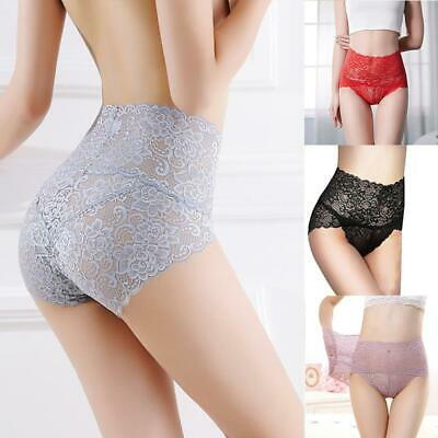 Seamless Lace Panties Women Shapers High Waist Slimming Tummy Control 2019