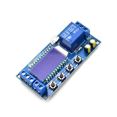 1pcs 1-Channel Relay Module Delay Trigger Cyclic Timing Circuit Switch XY-LJ02