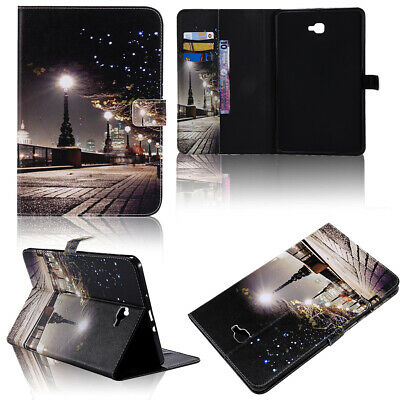 "For Samsung Tab A 10.1"" SM-T580- Smart Leather Folio Stand Wallet Phone Case"