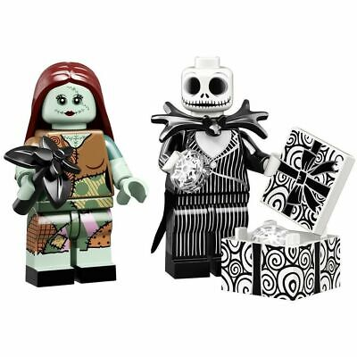 LEGO DISNEY Nightmare Before Christmas Jack Skellington & Sally 71024 Minifigure