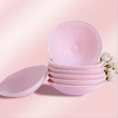 Pack of 2pcs Pink Washable Nursing Pads Maternity Breastfeeding Bra Pads