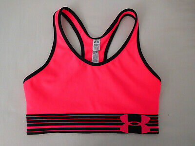 47d8cdde24b2 Under Armour Compression Sports Bra Womens Size XS Hot Pink Racer Back