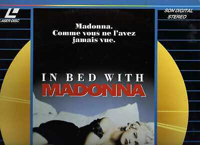IN BED WITH MADONNA WS VO ST PAL LASERDISC Madonna, Donna DeLory, Niki Harris