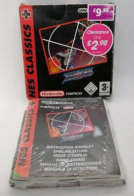 Classic NES Series: Xevious Video Game for Nintendo Game Boy Advance PAL BOXED