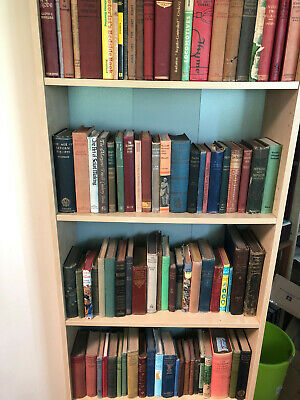 Job Lot Collection of 200 Old & Interesting Hardback Books, All Books Pre 1975