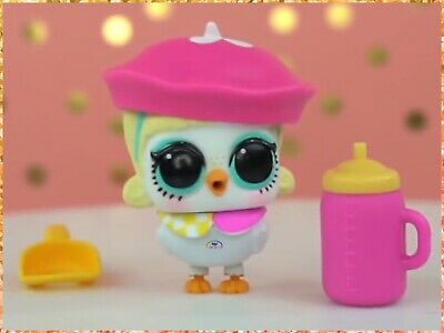 LOL Surprise Fuzzy Pets Go-Go Birdie Authentic Makeover Series 5~Sealed w/ Fuzz!