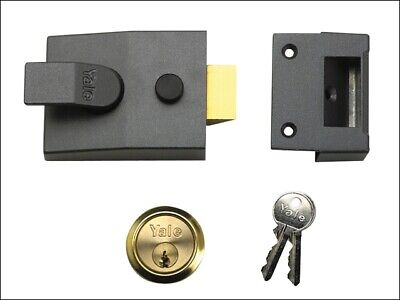 Yale Locks YAL88DMGPB 88 Standard Verrou 60mm Appuie-Tête Dmg Finition Backse