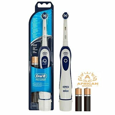 Braun Oral B PRO-EXPERT Power Electric Toothbrush DB4010 (2) Batteries Included