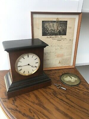 Antique Victor Athanase Pierret Of Paris French Movement Mantle Clock