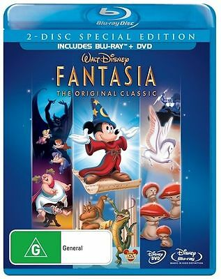 Fantasia The Original Classic 2 Disc Special Edition Bluray and DVD