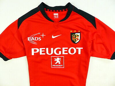 e82f592c293 Rugby Shirt Stade Toulousain Nike Player Issue Home Jersey Size:x-Large ( Xl
