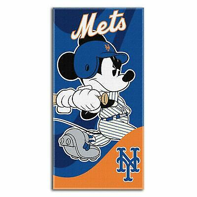 "MLB & Mickey Cobranded ""Wind Up"" Absorbent Beach Towel, 30""x60"""