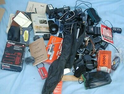 #N4 - A Joblot Of Camera  / Photo Bits And Accessories