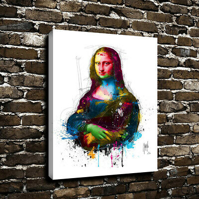 Mona Lisa Smile Posters on Canvas Art HD Print Oil Painting Picture Home Decor