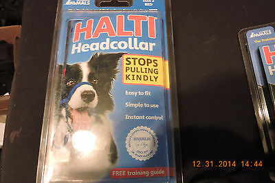 Halti Headcollar All Sizes  Black or Red Sizes 2,3,4 Size 0,1,5 r special orders