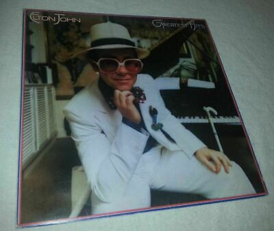 ELTON JOHN Greatest Hits 1974 UK VINYL LP Record Very Good Condition best of
