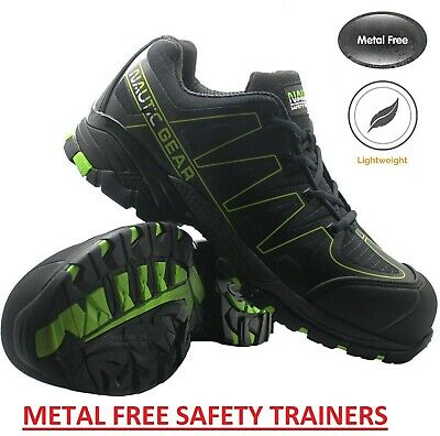 Mens Ultra Lightweight Womens Composite Toe Cap Safety Trainers Work Shoes Sz