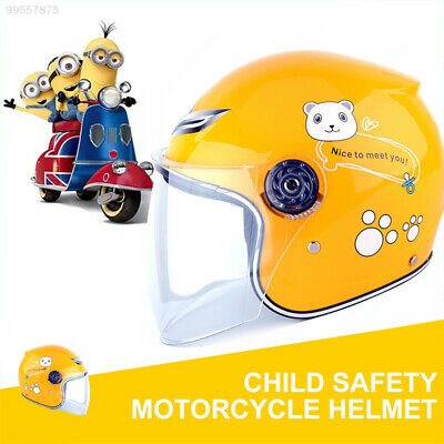 48CE Breathable Motorcycle Open Face Helmet Applique Protection Security
