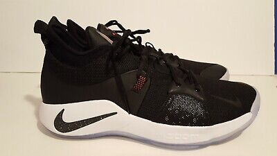 082918a300d5 NIKE PG 2 Taurus Black Solar Red ICE Paul George GS Basketball Shoes ...