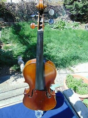 Beautiful, Well Constructed, Double Purfling, Fully Blocked Full Size Violin