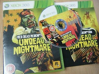 Red Dead Redemption Undead Nightmare Xbox 360 Game Complete With Manual