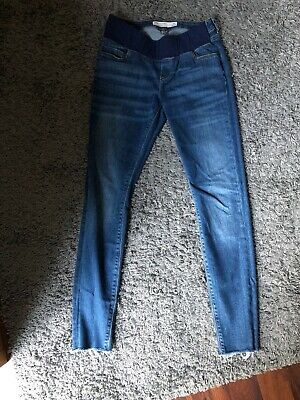 ASOS Blue Under Bump Maternity Jeans Size 10