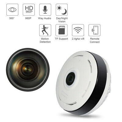 960P 360 DEGREE Panoramic Fisheye Wifi Baby,Pet Security