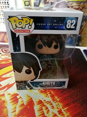 Kirito Funko Pop 82 Vaulted Sword Art Online