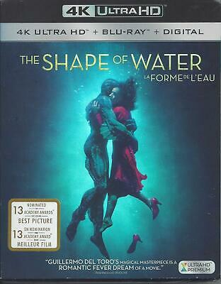 The Shape Of Water (4K Ultra Hd/Bluray)(2 Disc Set)(Used)