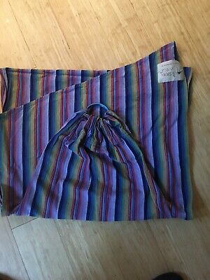 Storchenwiege Ring Sling Rainbow Cotton Baby Carrier
