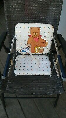 Vintage Graco Tot Loc Lock Clip On Table Top High Chair Booster Seat