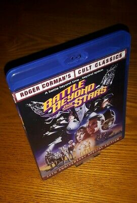 BATTLE BEYOND THE STARS Blu-ray US import Shout/Scream Factory (Roger Corman)