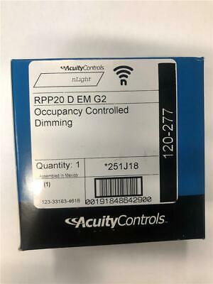 NEW nLight Acuity Controls RPP20 D EM G2 Occupancy Controlled Dimming 251J18
