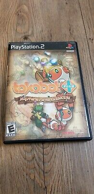 Tokobot Plus: Mysteries of the Karakuri (Sony PlayStation 2, 2006) with manual