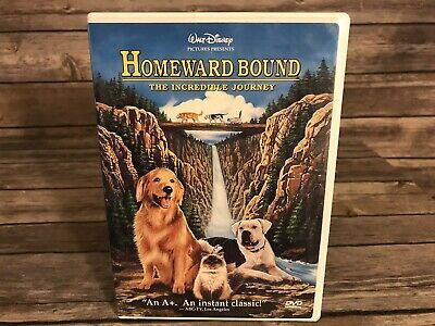 Homeward Bound - The Incredible Journey, DVD, Michael J. Fox, Sally Field