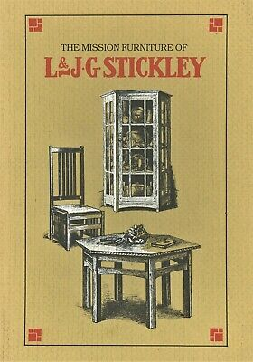 Antique Arts Crafts L & J.G. Stickley Furniture / Book - Catalogue Reprints