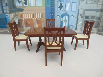 Vintage Reliable Doll Furniture Chair And Table Set