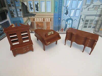 Vintage  Reliable Doll Furniture, Set Dresser And Piano