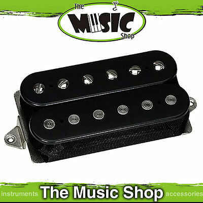 New Dimarzio Illuminator Bridge Position Humbucker Pickup - DP257 Black Standard
