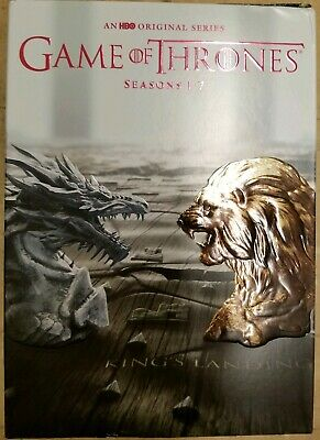 Game of Thrones Seasons 1-7 DVD Set Like New Condition 1 2 3 4 5 6 7