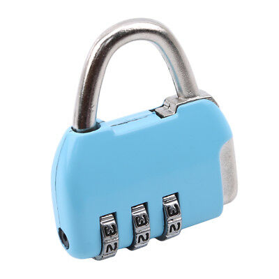 Resettable Digit Combination Travel Suitcase Luggage Bag Code Lock Padlock SW