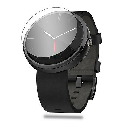 Clear HD Screen Protector Cover For   Moto 360 Smartwatch LJ
