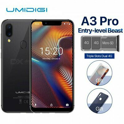 "UMIDIGI A3 Pro Globale Version 5.7"" 4G Smartphone 3GB 32GB Dual Camera By USPS"