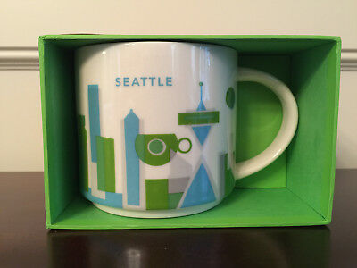 Starbucks Yah Seattle City You Are Here Collection Mug