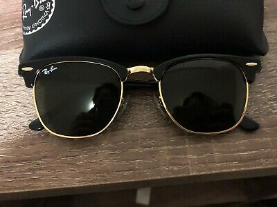 b267d72ab5 RAY-BAN RB3016 901 58 Clubmaster Classic Black Sunglasses -  100.00 ...