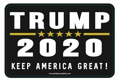 Trump 2020 Fridge Magnet Keep America Great Again Make Presidential Election Rep