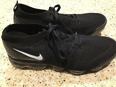 Nike Air Vapormax Flyknit Mens 10 Black